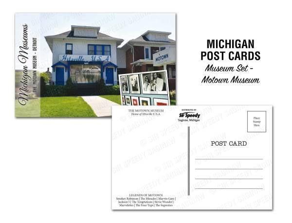 Michigan Motown Museum Postcard