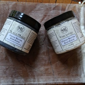 Cocoa Butter Soap Scrub Gift Set