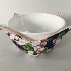 Apple Blossoms Microwave Bowl Holder Cozy