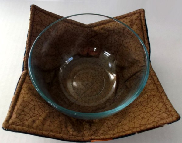 At The Lake Microwave Bowl Holder Cozy Hot Pad