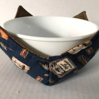 At The Lake Microwave Bowl Holder Cozy