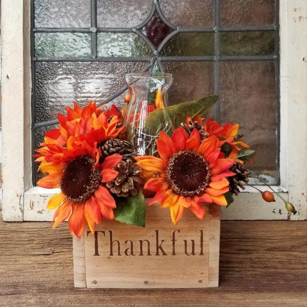 Thankful Fall Centerpiece