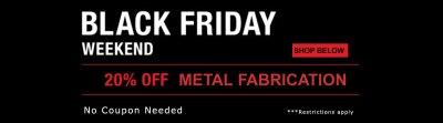 20% OFF Rebel Metal Works