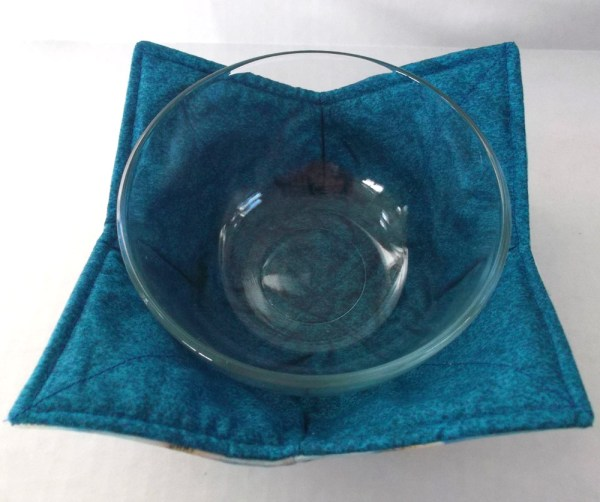 Blue Lighthouse Microwave Bowl Cozy