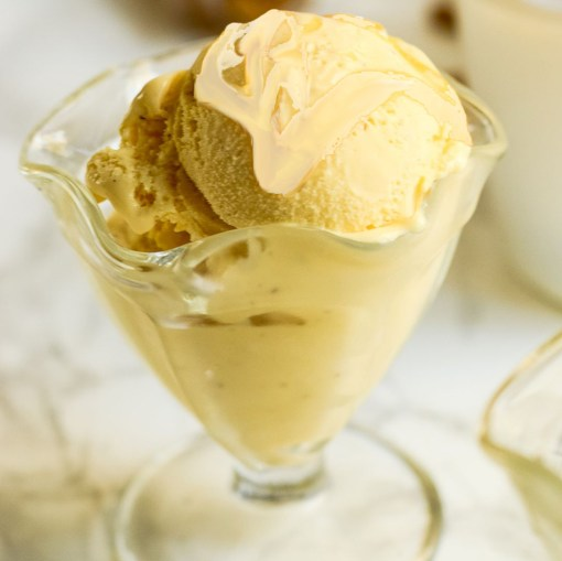 Creamed Honey On Ice Cream