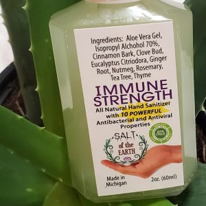 Immune Strength Hand Sanitizer