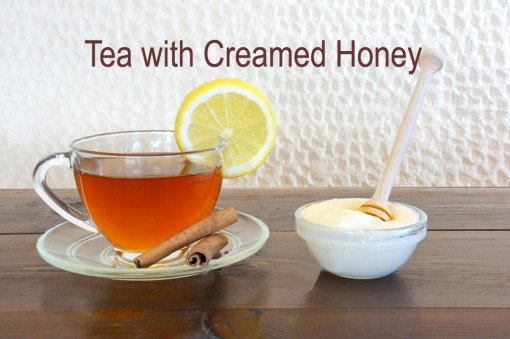 Tea with Creamed Honey