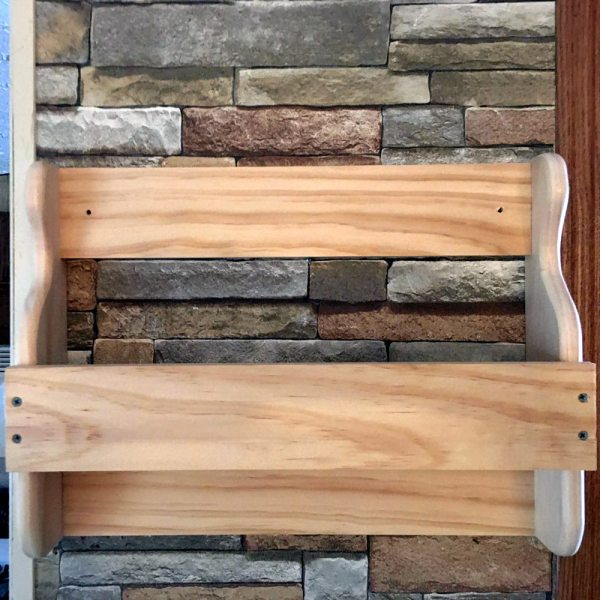 White Pine Country Wall Shelf