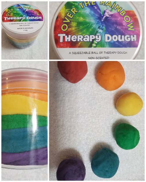 Therapy Dough Rainbow