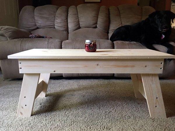 White Pine Coffee Table