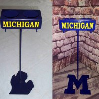 Michigan Beerstix Beverage Holder