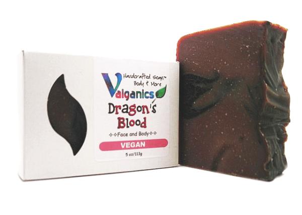 Dragon's Blood Vegan Soap