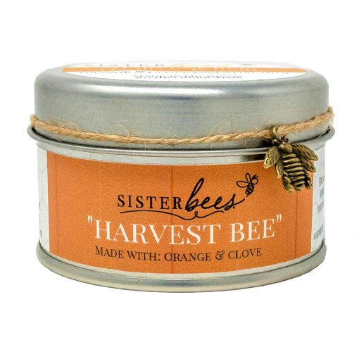 Harvest Bee Candle Orange & Clove