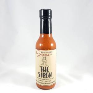 The Siren Hot Sauce Smoky Cayenne Habanero Sauce