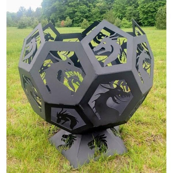 dragon fire pit ball