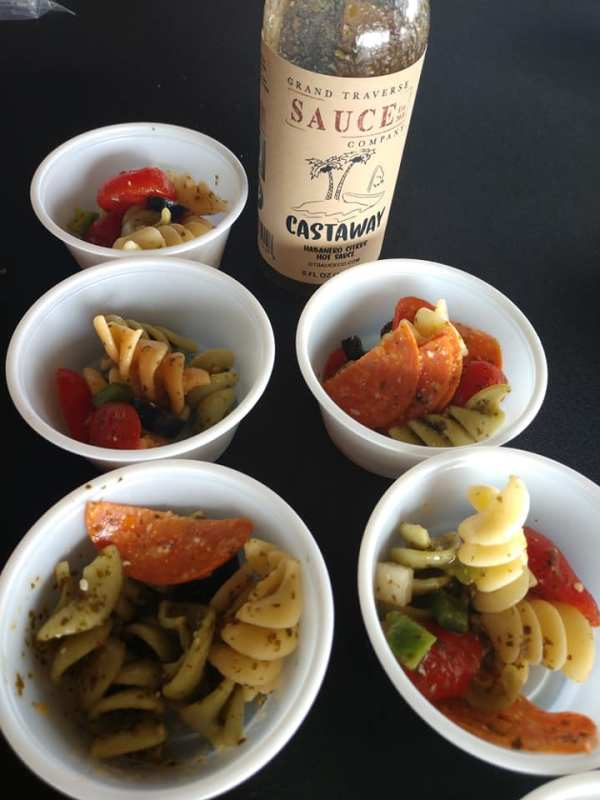 Castaway hot sauce food ideas