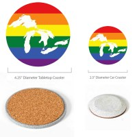 Great Lakes Pride Coasters