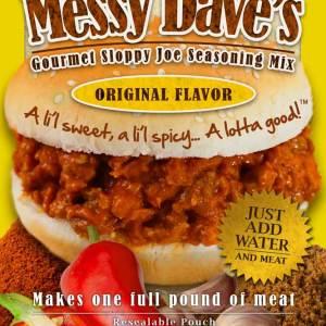 Wholesale Messy Dave's Sloppy Joe Seasoning