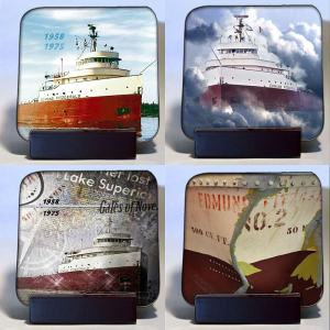 Hardboard Edmund Fitzgerald Coaster Set
