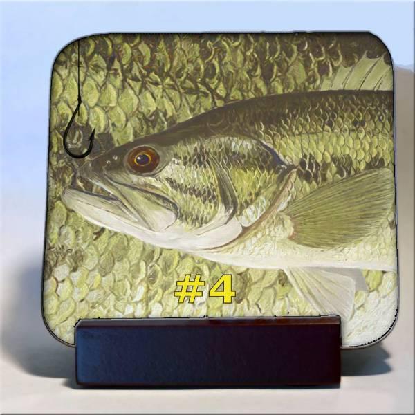 Michigan Fish Coaster #4