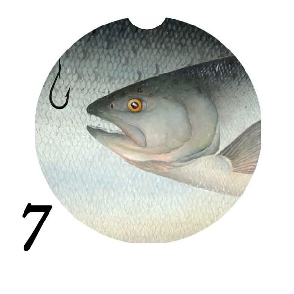 Michigan Fish Car Coaster 7