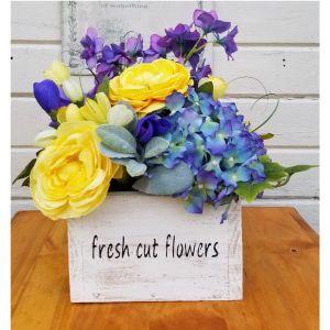 Fresh Cut Flowers Box Flower Arrangement