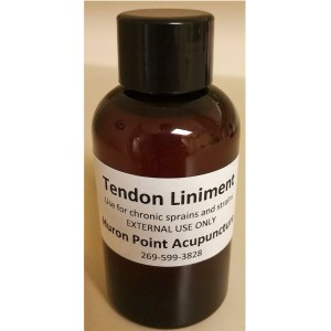 Tendon Liniment Soothes and Heals