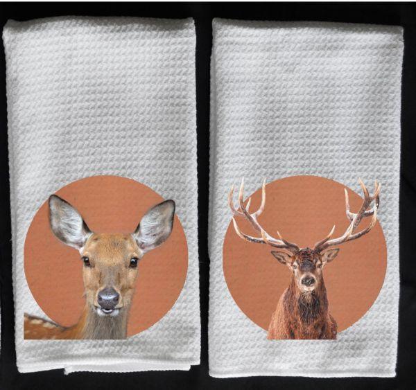 deer towel elk towel