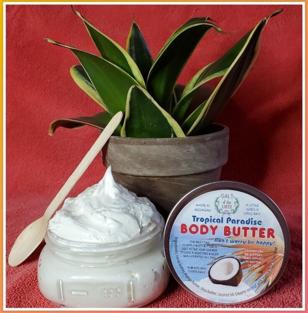Body Butter Tropical Paradise