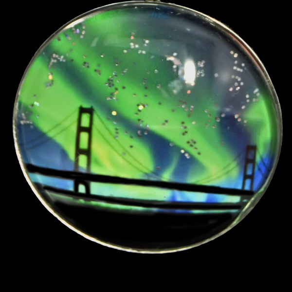 Mackinac Bridge Northern Lights
