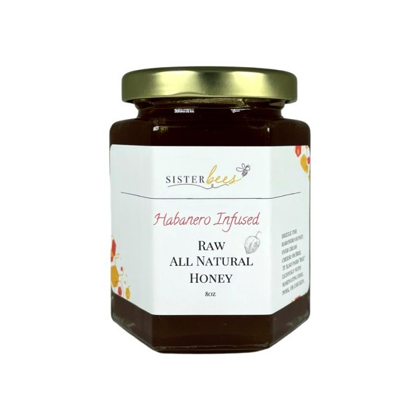 Habenero Infused Honey Raw All Natural