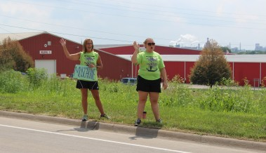 Muscatine Iowa RAGBRAI 2016 Volunteers
