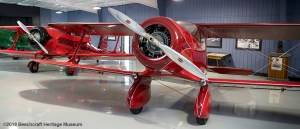 #1 Staggering - the very first Staggerwing plane to come off the assembly line.