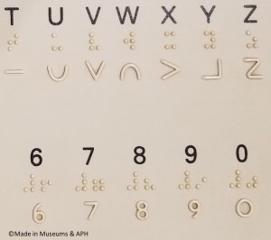 "Example of Moon Type - a ""arbitrary code"" writing system"