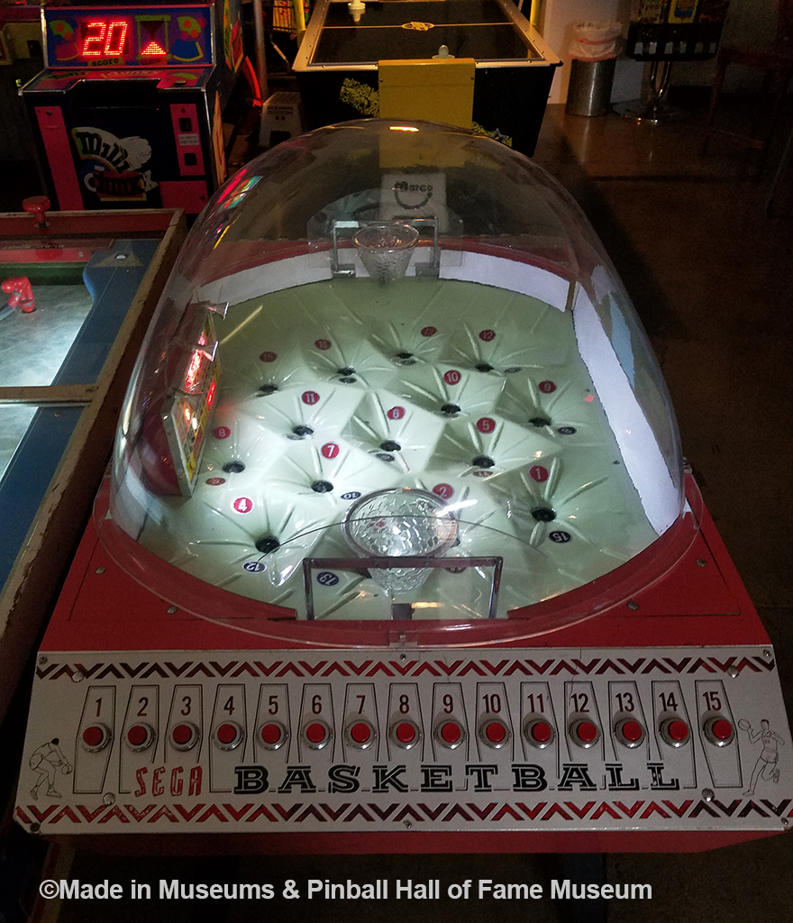 SEGA basketball game