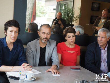Conférence de presse collectif contre le porjet comteroux