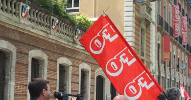 FO devant la préfecture