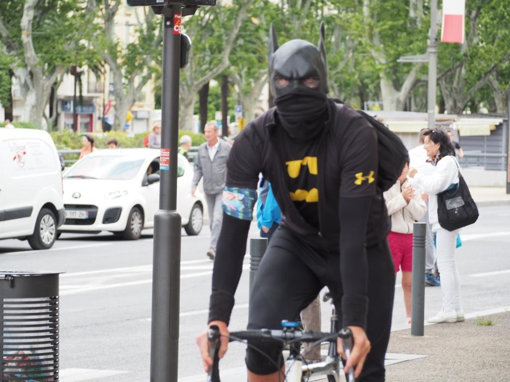 Batman veille à la sécurité