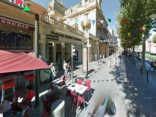 Passage Doisneau Perpignan-Vue Google Map