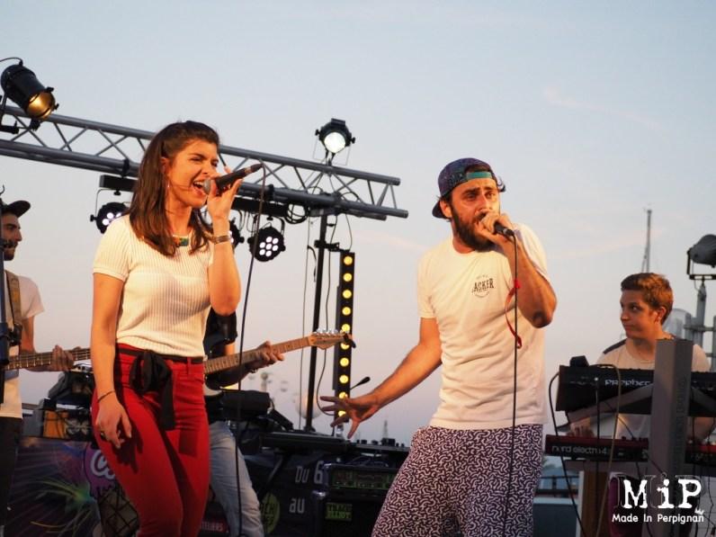 Dab Rozer lors du Live'in St Cyp 2016