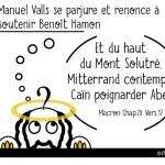 DuBulle #18 Valls renonce à soutenir Hamon