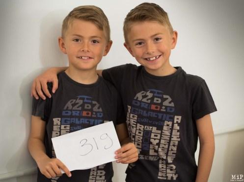 Kris et Filip 8 ans