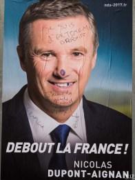 Presidentielle 2017 - Affiches degradées-4130855