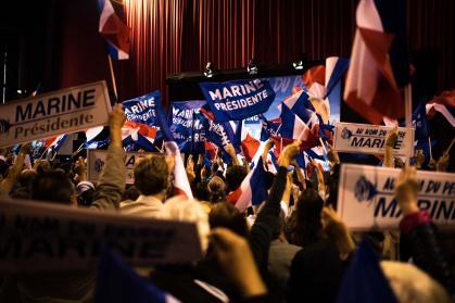Presidentielle 2017 - Marine Le Pen à Perpignan - Credit photo Ludivine Paques 1
