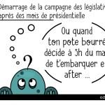 DuBulle #35 Début de la campagne des Législatives