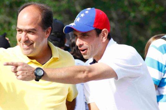 Julio borges et Henrique Capriles Radonski