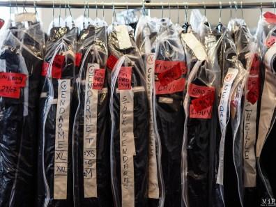 Costumes utilisés pour la série