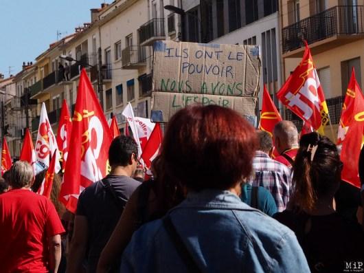 Mobilisation contre la réforme du travail à Perpignan-9210047