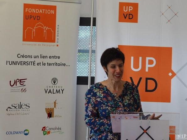 Florence Fabre - Nouvelle directrice pour la Fondation UPVD-190055
