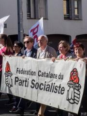 Perpignan - Manifestation pour défendre la fonction publique -100011